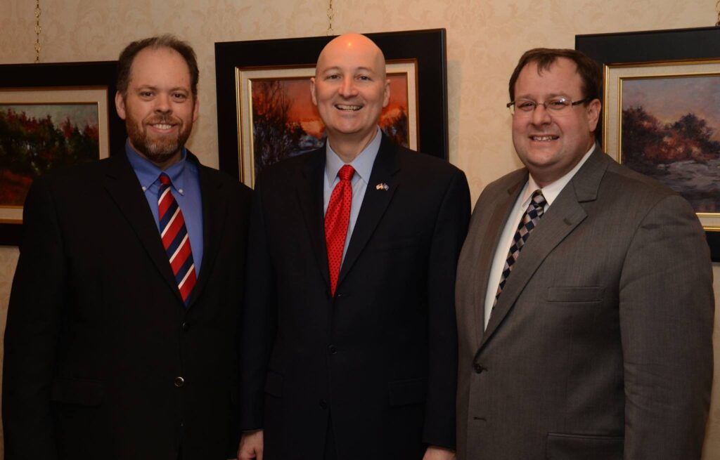 Don visits with Governor Ricketts and Commissioner of Education Matt Blomstedt
